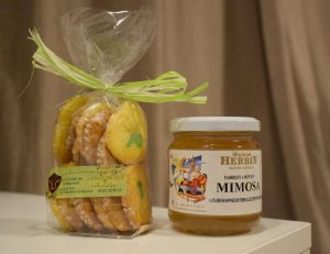 Route du Mimosa Itinerary - jam and cookies