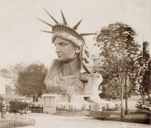 Friday Fun Facts Statue of Liberty - Original head in Paris