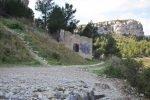Provence's Côte Bleue - Fort Niolon - diverging paths-