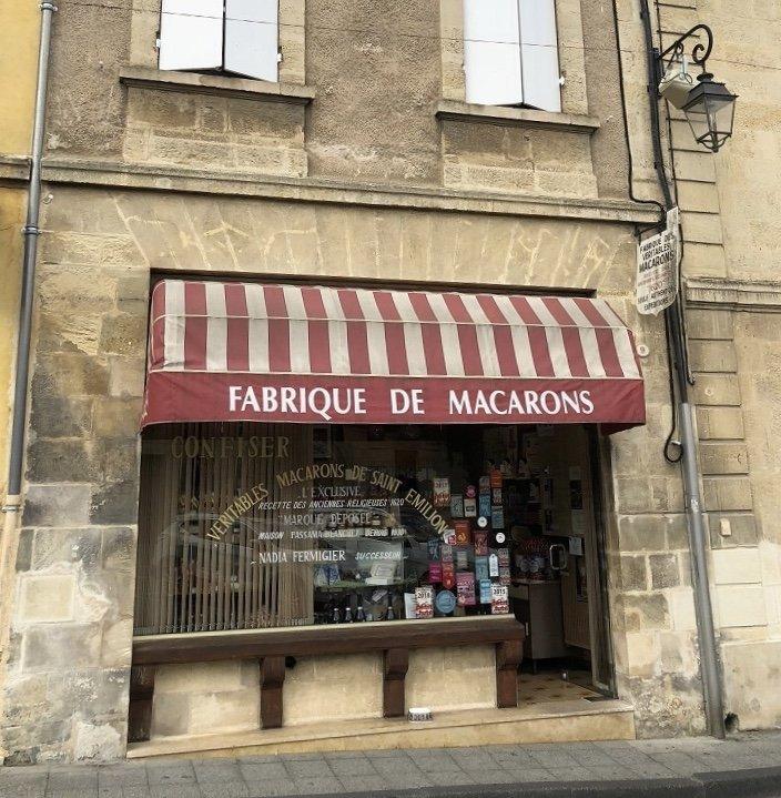 Magasin macarons Saint Emilion - Bakery Saint Emilion